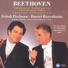 Violin Concerto; Romances - Perlman, Berliner Philharmoniker / Barenboim