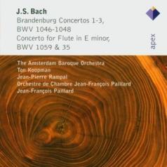 Brandenburg Concertos Nos 1 - 3 & Flute Concerto