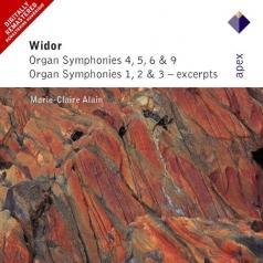 Organ Symphonies Nos 4 - 6 & 9, Organ Symphonies 1 - 3
