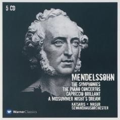 Symphonies Nos 1 - 5, Piano Concertos Nos 1, 2 & A Midsummer Night's Dream