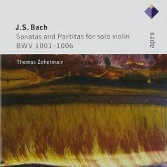 Solo Violin Sonatas Nos 1 - 3 & Partitas Nos 1 - 3 [Complete] -  Apex