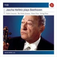 Jascha Heifetz Plays Beethoven Sonatas