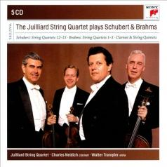 The Juilliard String Quartet Plays Schubert & Brahms