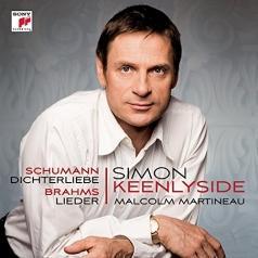 Schumann: Dichterliebe; Brahms: Lieder