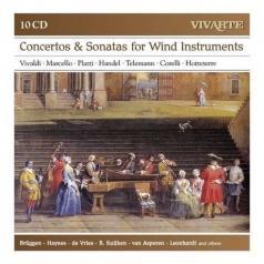 Concertos & Sonatas For Wind Instruments: Corelli, Handel, Hotteterre, Vivaldi