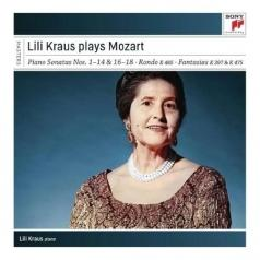 Lili Kraus Plays Mozart Piano Sonatas