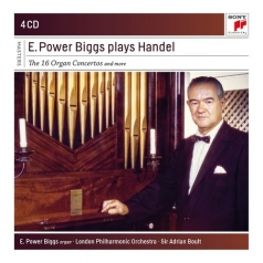 E. Power Biggs Plays Handel - 16 Organ Concertos