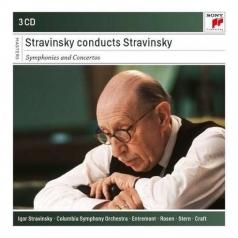 Stravinsky Conducts Stravinsky - Symphonies And Concertos