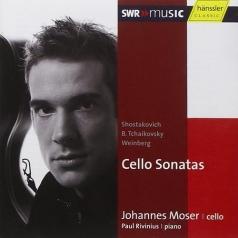 Weinberg / Shostakovich / Tchaikovsky, B.: Cello Sonatas