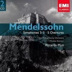 Mendelssohn: Symphony 3-5 - 5 Overtures