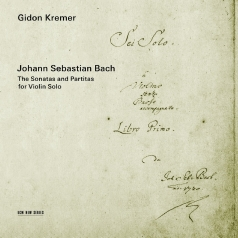 Gidon Kremer (Гидон Кремер): Bach Js: The Sonatas And Partitas For Violin Solo