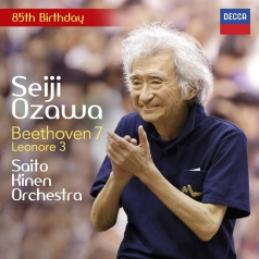 "Seiji ""Ozawa: Beethoven: Symphony No. 7; Leonore Overture No. 3"
