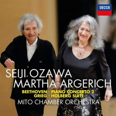 Martha Argerich (Марта Аргерих): Beethoven: Piano Concerto No. 2; Grieg: Holberg Suite