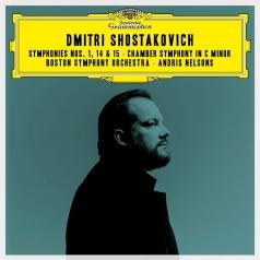 Andris Nelsons (Андрис Нелсонс): Shostakovich: Symphonies Nos. 1, 15 & 14; Chamber Symphony