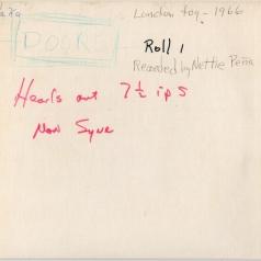 The Doors (Зе Дорс): London Fog 1966