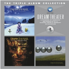 Dream Theater (Дрим Театр): The Triple Album Collection: A Change Of Seasons, Metropolis Pt. 2: Scenes From A Memory, Octavarium