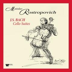 Mstislav Rostropovich (Мстислав Ростропович): Bach: Cello Suites