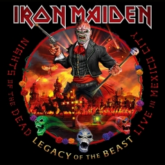 Iron Maiden (Айрон Мейден): Nights Of The Dead – Legacy Of The Beast, Live In Mexico City