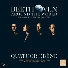 Quatuor Ebene (Куатуор Ебене): Beethoven: String Quartets