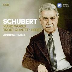 Franc Schubert (Франц Шуберт): Schubert: 3 Sonatas, Impromptus, Moments Musicaux, Trout Quintet, 7 Lieder…