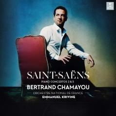 Chamayou Bertrand (Бертран Шамайю): Saint-Saëns: Piano Concertos Nos. 2 & 5. Solo Piano Works