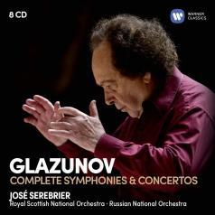 Alexander Glazunov (Александр Константинович Глазунов): Glazunov: The Complete Symphonies & Concertos