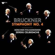 "Sergiu Celibidache Munchner Philharmoniker: Bruckner: Symphony No. 4 ""Romantic"""