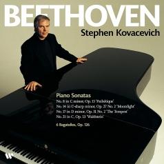 Stephen Kovacevich (Стивен Ковачевич): Beethoven: Piano Sonatas Nos. 8, 14, 17 & 21, Bagatelles Op. 126
