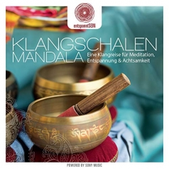 Entspanntsein: Klangschalen Mandala