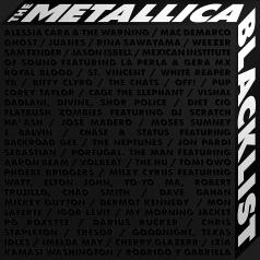 Metallica (Металлика): The Metallica Blacklist