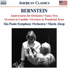 Leonard Bernstein (Леонард Бернстайн): Overture To Candide, Fancy Free, Anniversaries For Orchestra (Orch. Sunderland), Overture To Wonderful Town (Arr. Harmon)