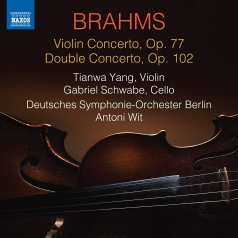 Johannes Brahms (Иоганнес Брамс): Violin Concerto, Double Concerto
