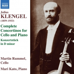 Julius Klengel: Concertinos For Cello And Piano Nos. 1-3, Concert Piece For Cello And Piano In D Minor, Op. 10