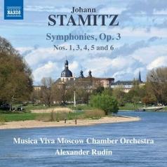 Johann Stamitz: Symphonies Op. 3, Nos. 1, 3–6
