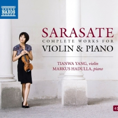 Pablo Sarasate: Complete Works For Violin And Piano