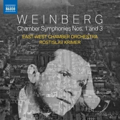 Mieczyslaw Weinberg: Chamber Symphonies Nos. 1 And 3