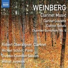 Mieczyslaw Weinberg: Clarinet Concerto, Chamber Symphony No. 4, Clarinet Sonata