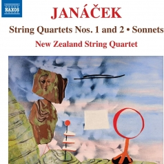 Leos Janacek (Леош Яначек): String Quartet No. 1 'Kreutzer Sonata', String Quartet No. 2 'Intimate Letters', Sonnets Nos. 1 And 2 (Arr. Rolf Gjelsten)
