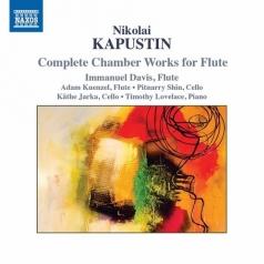 Nikolai Kapustin: Flute Sonata, Op. 125, Divertissement, Op. 91, A Little Duo, Op. 156, Trio, Op. 86