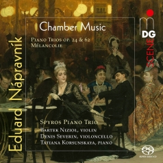 Eduard Napravnik (Эдуард Направник): Napravnik: Complete Piano Trios