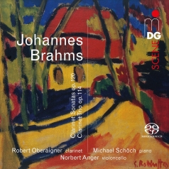 Johannes Brahms (Иоганнес Брамс): Brahms, Johannes: Clarinet Sonatas Op. 120; Clarinet Trio Op. 114
