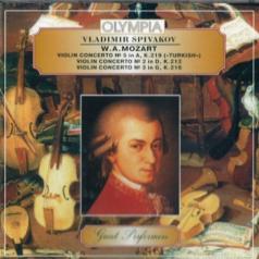 Классика: Spivakov Mozart Viol.Con. 5,2,3