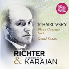 "Классика: Рихтер Чайковский ""Piano Conc.№1"",""Grand Sonata"" / Караян"
