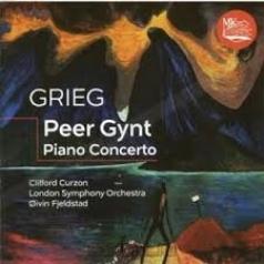 Классика: Григ Э. Пер Гюнт, Фортепианный Концерт /Керзон К.