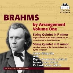 Johannes Brahms (Иоганнес Брамс): Brahms By Arrangement Vol.1
