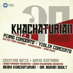 Aram Khachaturian (Арам Ильич Хачатурян): Piano Concerto; Violin Concerto; Suites From Gayaneh, Masquerade, Spartacus