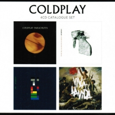 Coldplay (Колдплей): 4 CD Catalogue Set