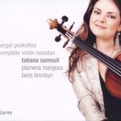 Sergey Prokofiev (Сергей Сергеевич Прокофьев): Prokofiev: Complete Violin Sonatas