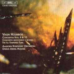 Vagn Holmboe (Вагн Хольмбоэ): Orchestral Concertos