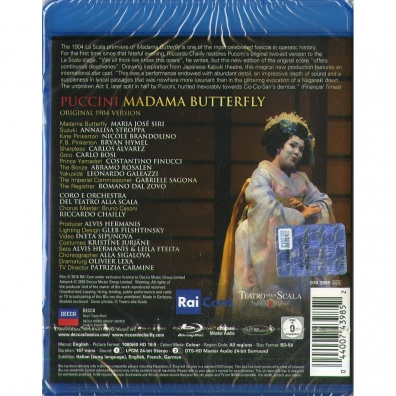 Riccardo Chailly (Рикардо Шайи): Puccini: Madama Butterfly